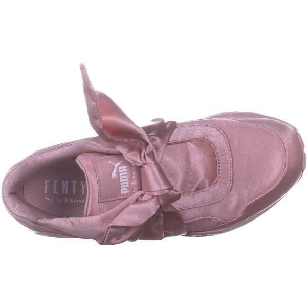 ce3865dafde7 PUMA - Metallic Fenty Bow Sneaker Slip On Fashion Sneakers - Lyst. View  fullscreen