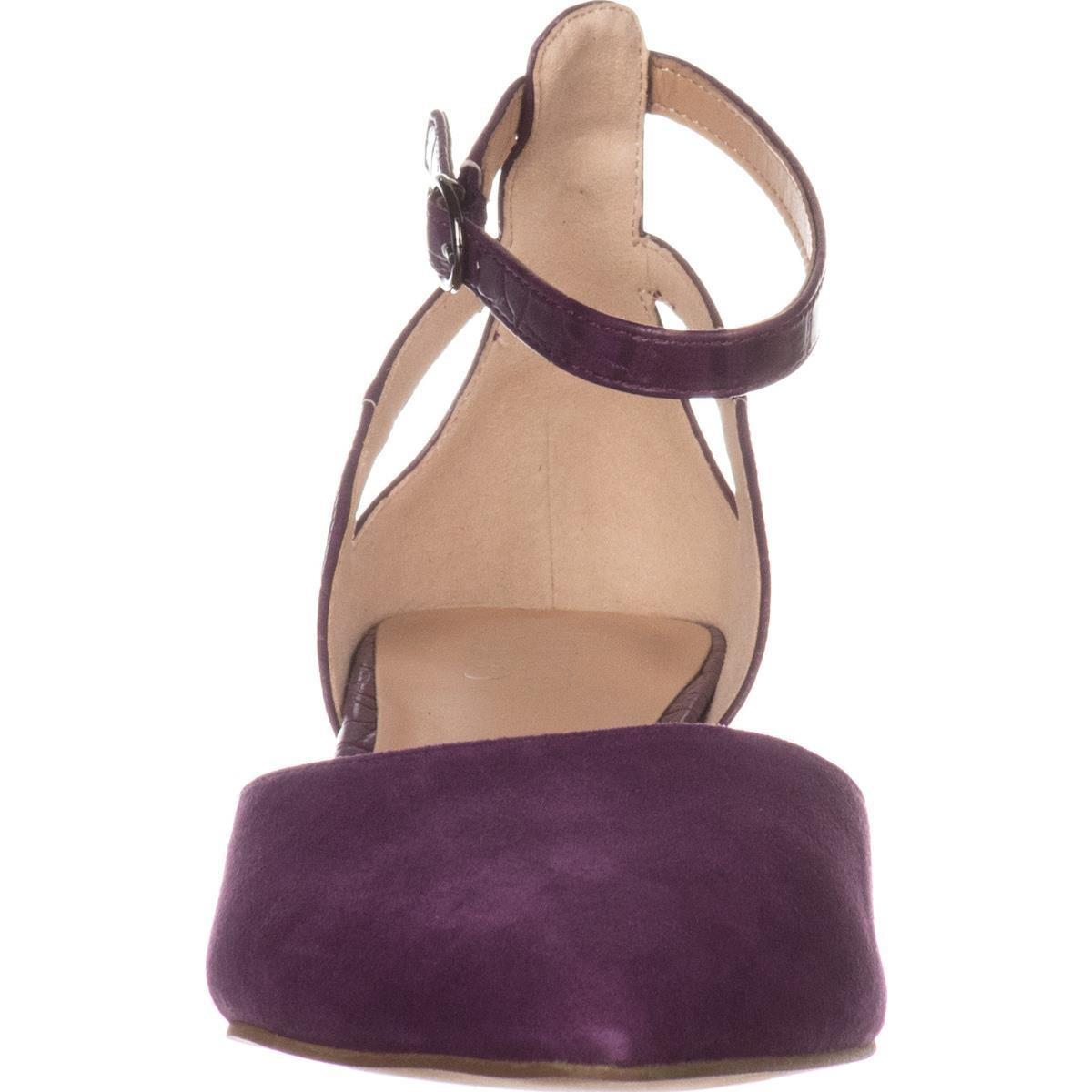 e40ee20ee478 Lyst - Franco Sarto Caleigh Ankle-strap Heels
