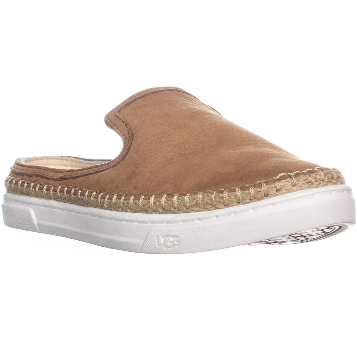 3232c5c3688 Lyst - UGG Caleel Flat Slip-on Mule in Brown