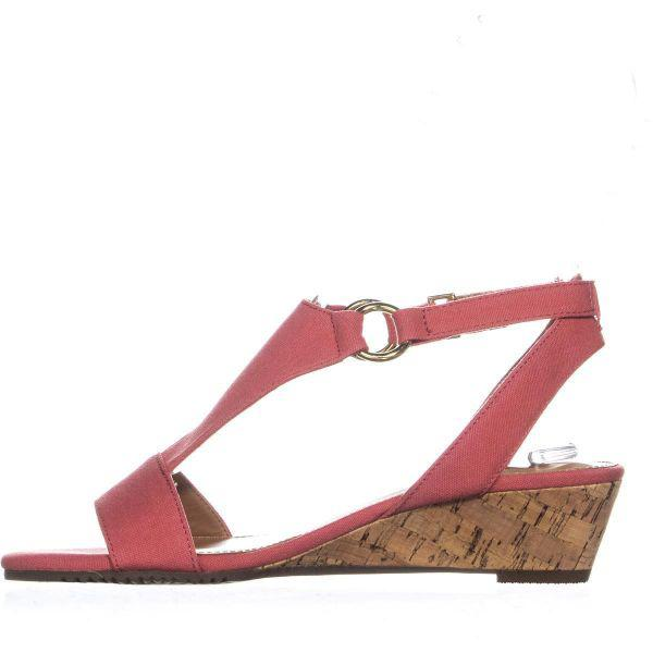 64156336195 Aerosoles - Pink Creme Brulee Wedge Sandals - Lyst. View fullscreen