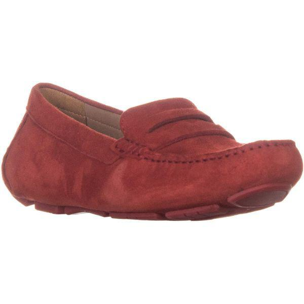 b36b8f629a9 Lyst - Naturalizer Natasha Penny Loafers in Red