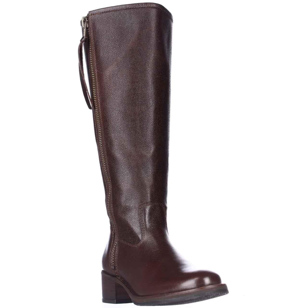 lucky brand hyperr wide calf flat boots lyst