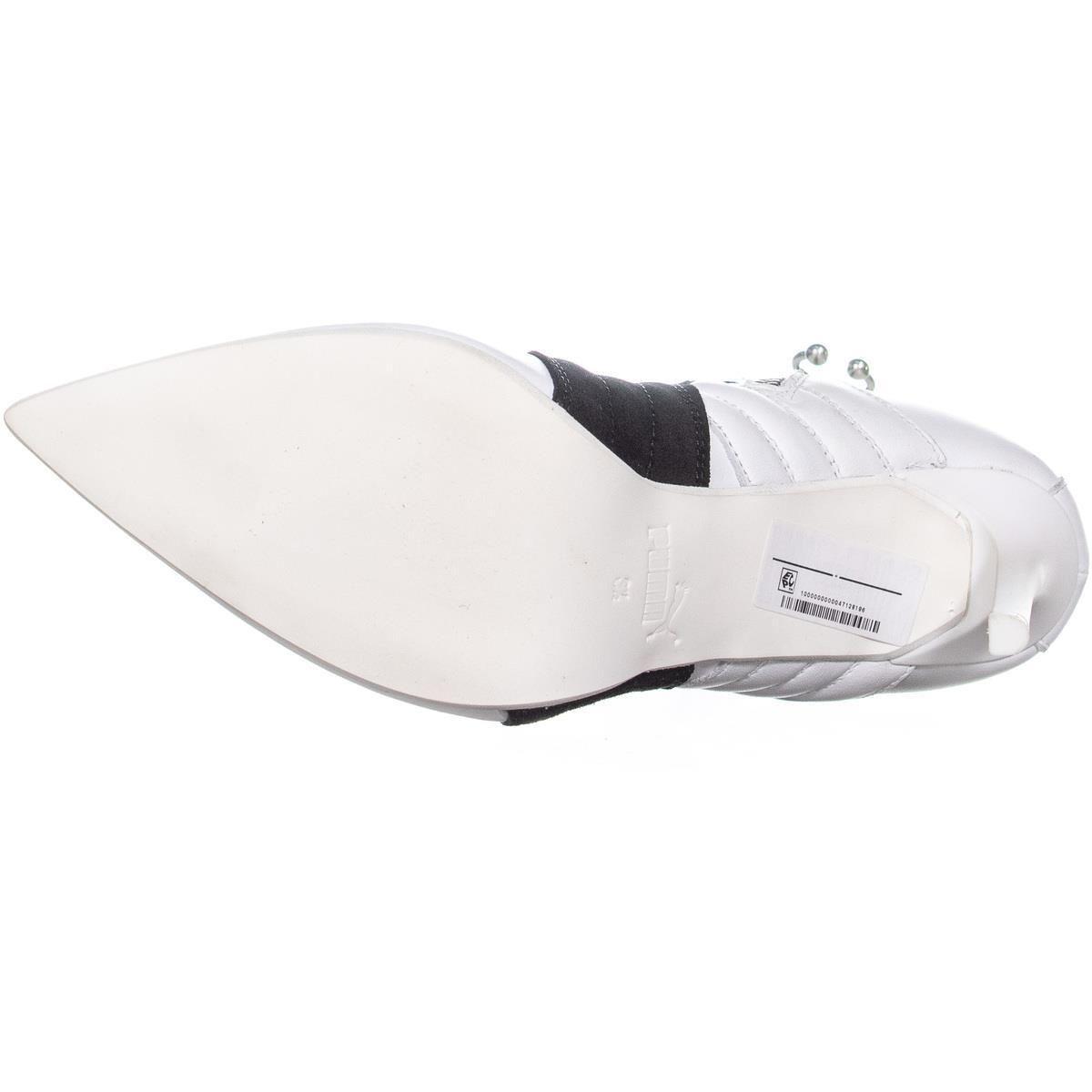 007f2f03ef6 PUMA - White Fenty High Heel Sneaker Ankle Boots - Lyst. View fullscreen