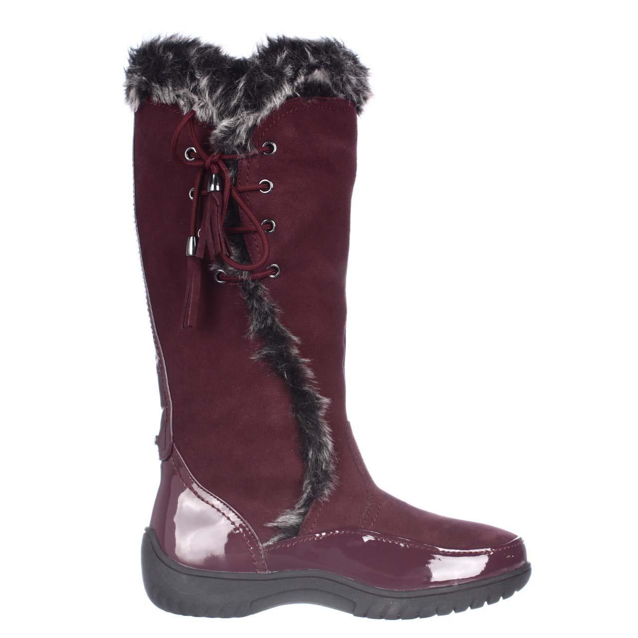 sporto side winder waterproof suede boots in lyst