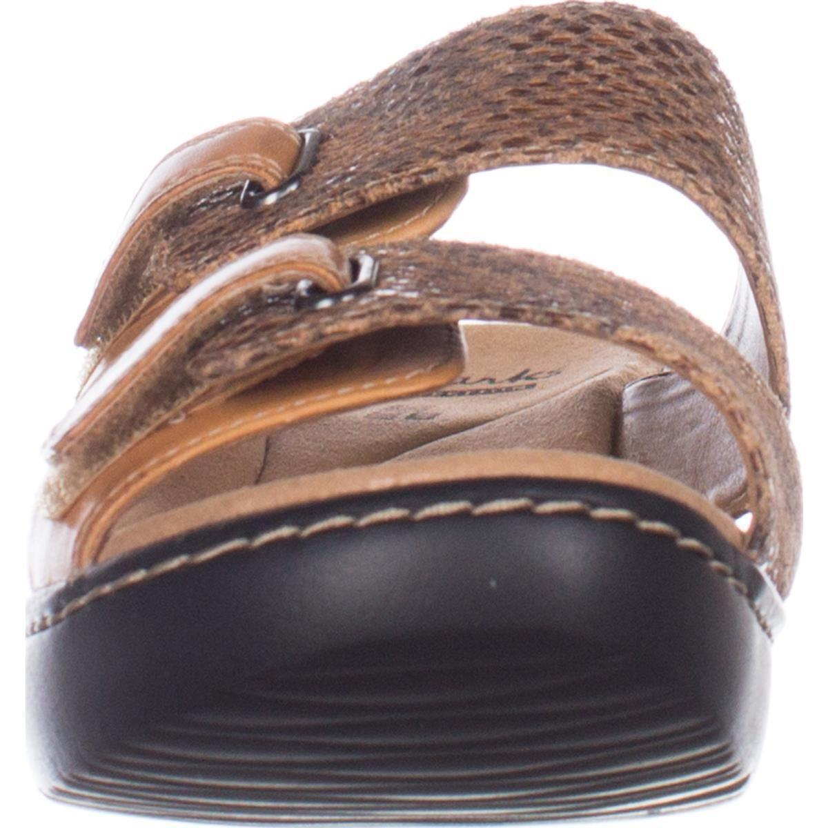 0da4058c8d87 Lyst - Clarks Delana Fenela Comfort Wedge Sandals - Save 24%