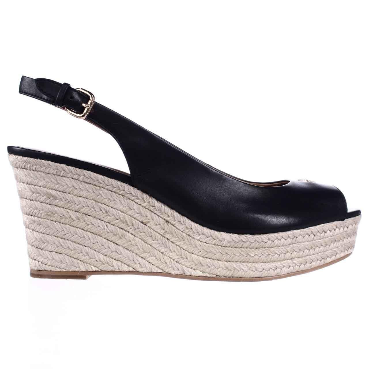 Coach Ferry Peep Toe Slingback Espadrille Wedge Sandals in ...