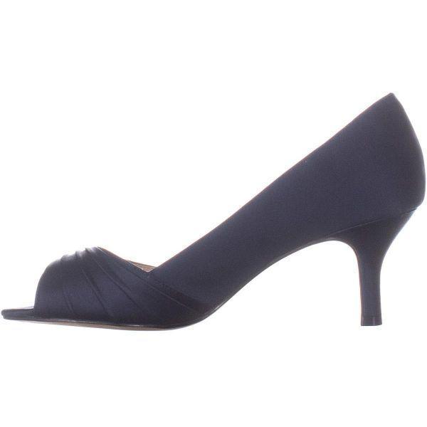 faf4ea361219 Nina - Blue Chezare Peep Toe Heels - Lyst. View fullscreen