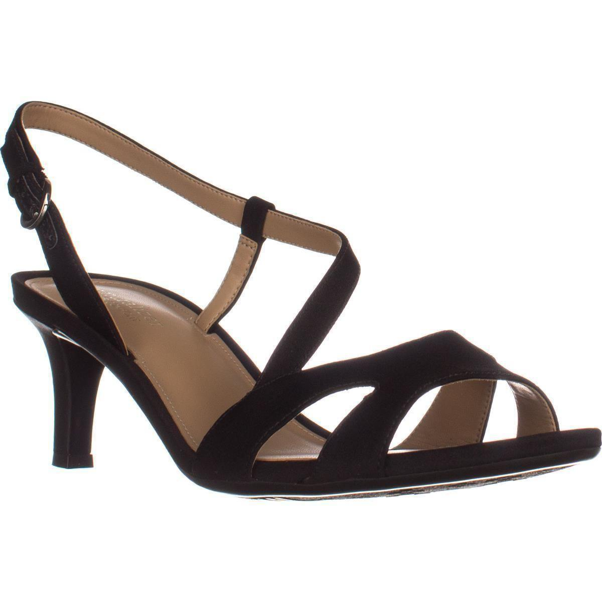 da9016d5338c Lyst - Naturalizer Harmony Strappy Comfrot Sandals in Black - Save 14%