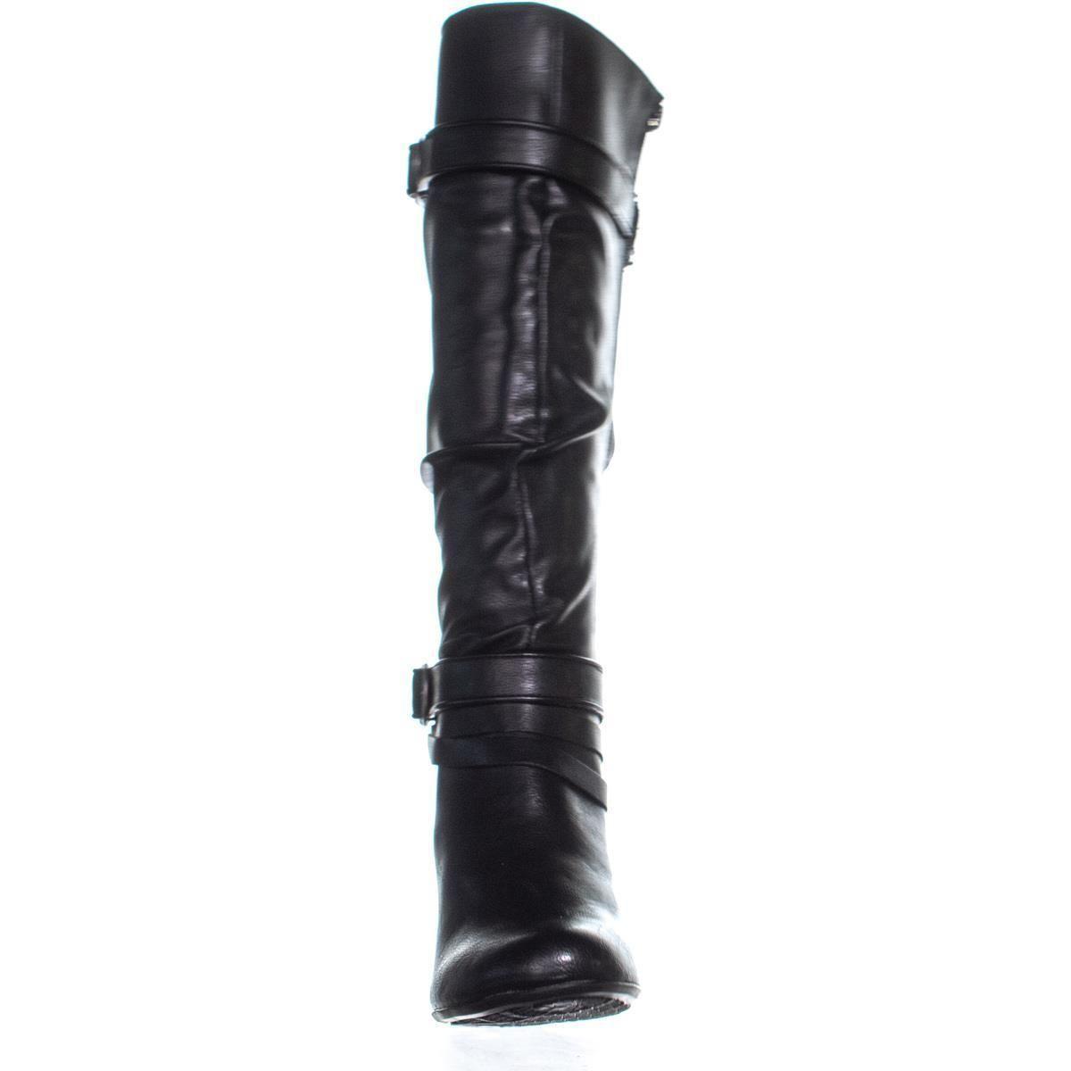 7da0e00ef2aa Hush Puppies - Black Lonna Zippered Knee-high Boots - Lyst. View fullscreen