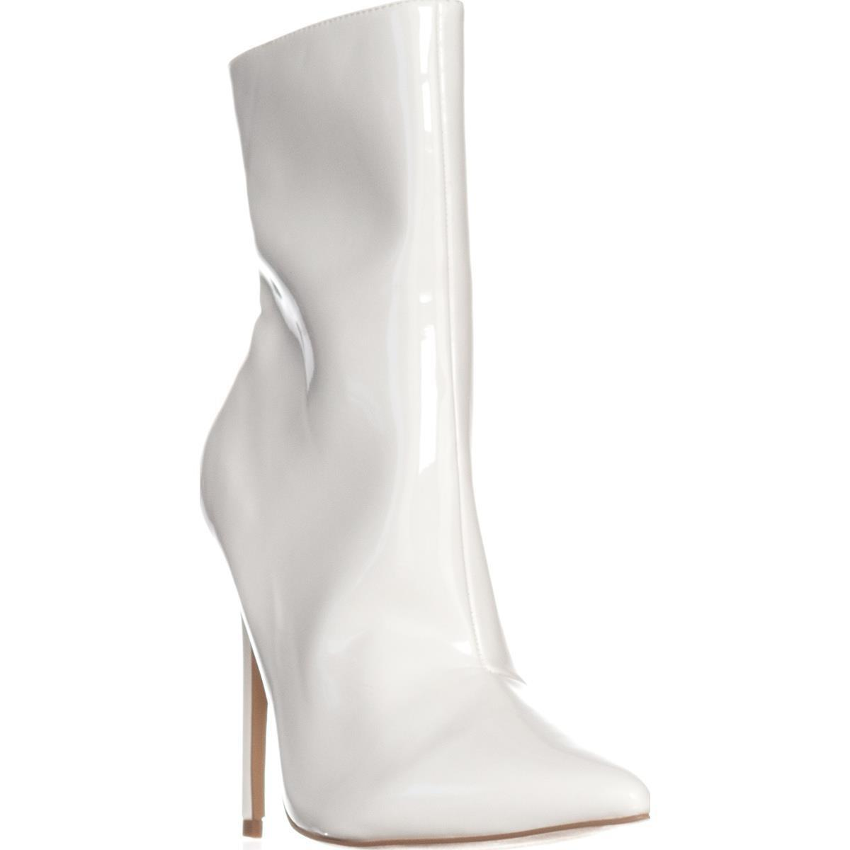 b58f876cca5 Lyst - Steve Madden Wagner Ankle Boots in White