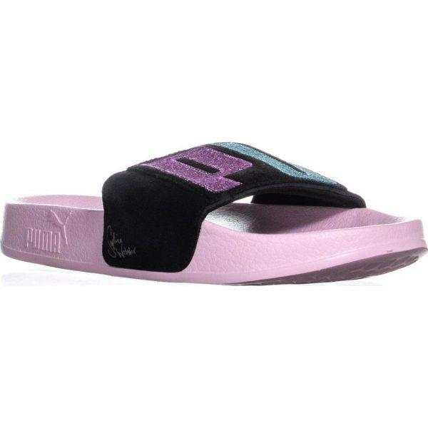 301fe36c9227 Lyst - PUMA X Sophia Webster Leadcat Slip On Slide Sandals in Pink