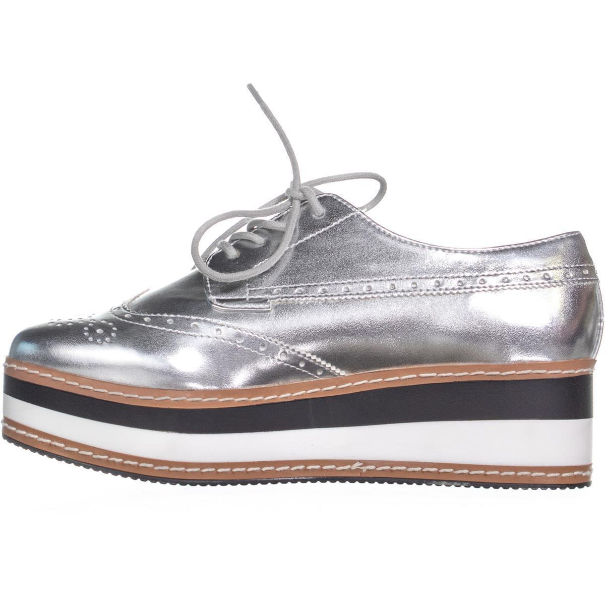 d17d9d4fd10 Lyst - Steve Madden Greco Lace Up Platform Sneakers