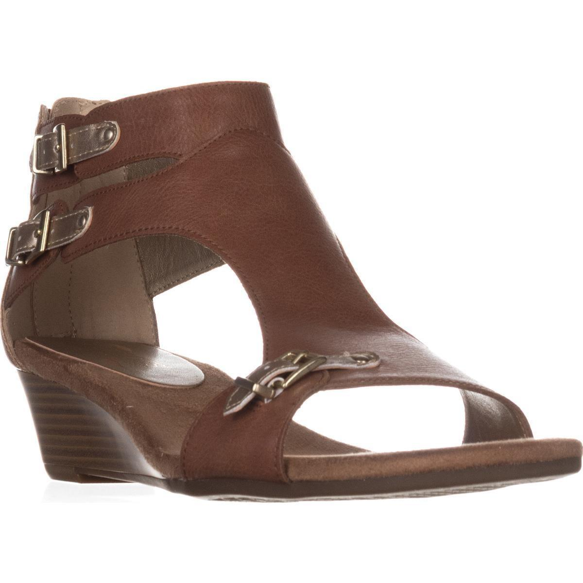 bd046f43767 Lyst - Aerosoles Yet Another Low Wedge Sandals in Brown