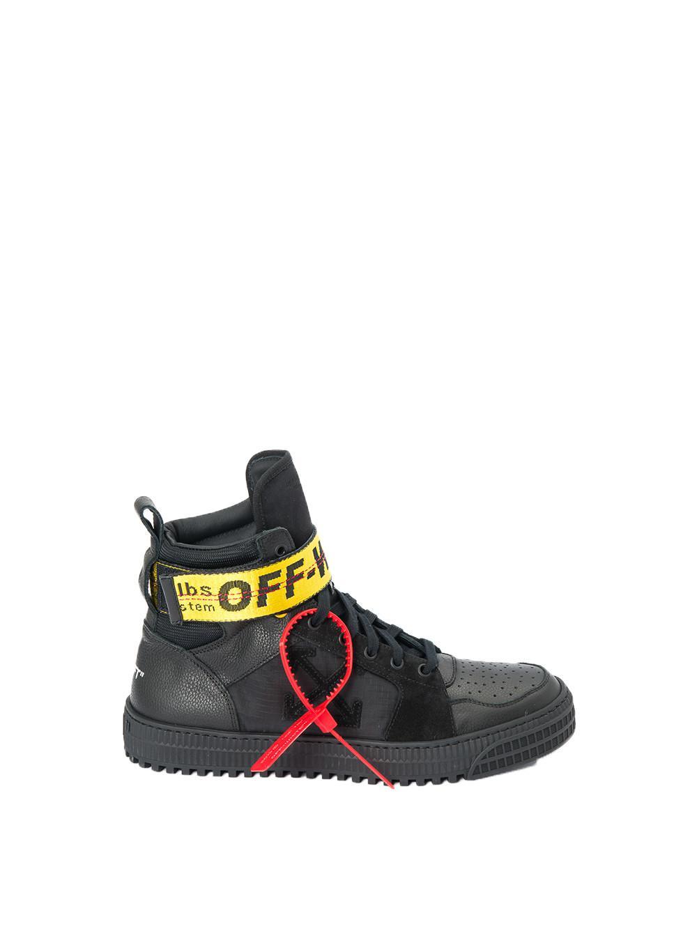 d9d46589e72d2 Off-White C O Virgil Abloh Industrial Sneakers for Men - Lyst