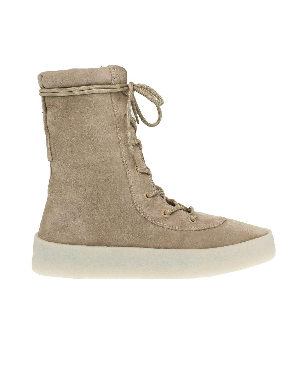 97e83eff663 Lyst - Yeezy Lace-up Boots for Men