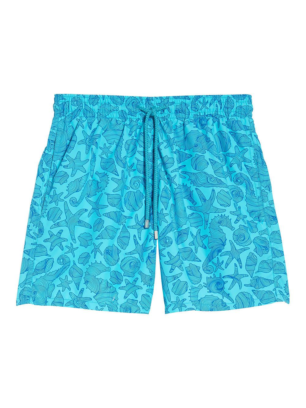 50aa6a7f59 Lyst - Vilebrequin Seahorse Print Swimming Trunks in Blue for Men