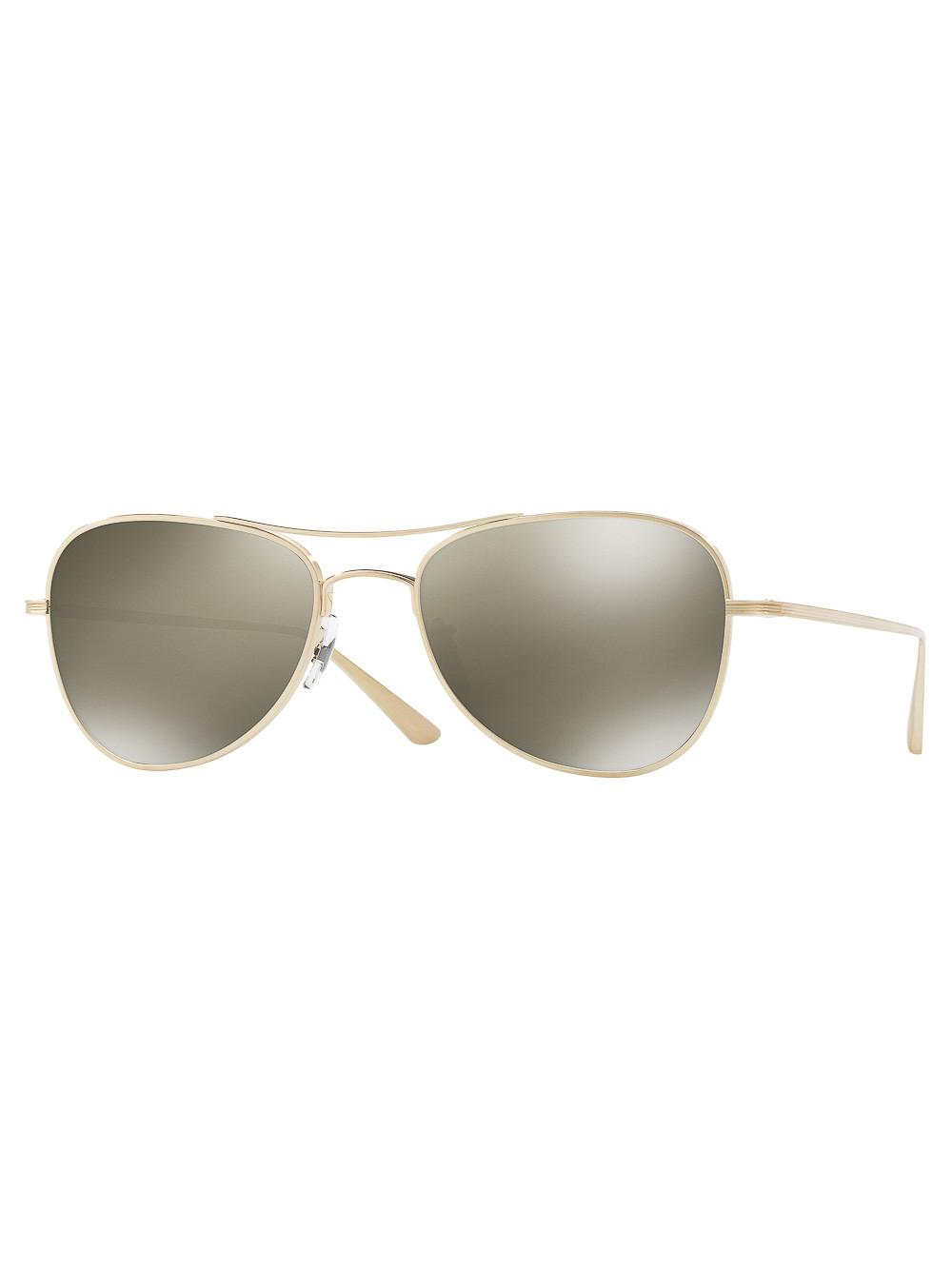 e54ca07f1e Oliver Peoples The Row X  executive Suite  Sunglasses - Save 6% - Lyst