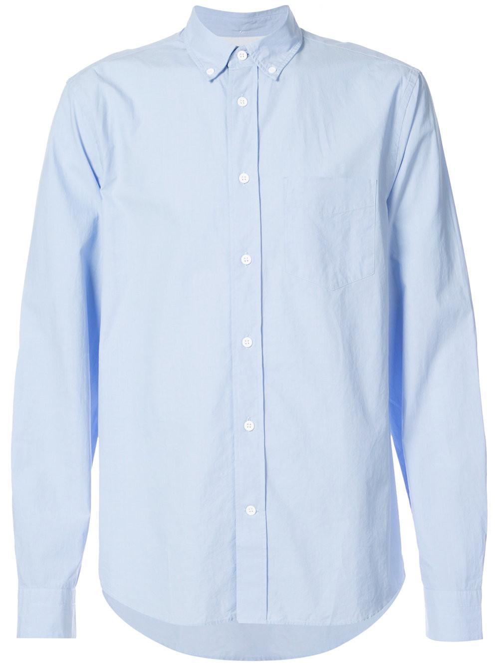 8be4463f62 Acne Studios Isherwood Shirt in Blue for Men - Lyst