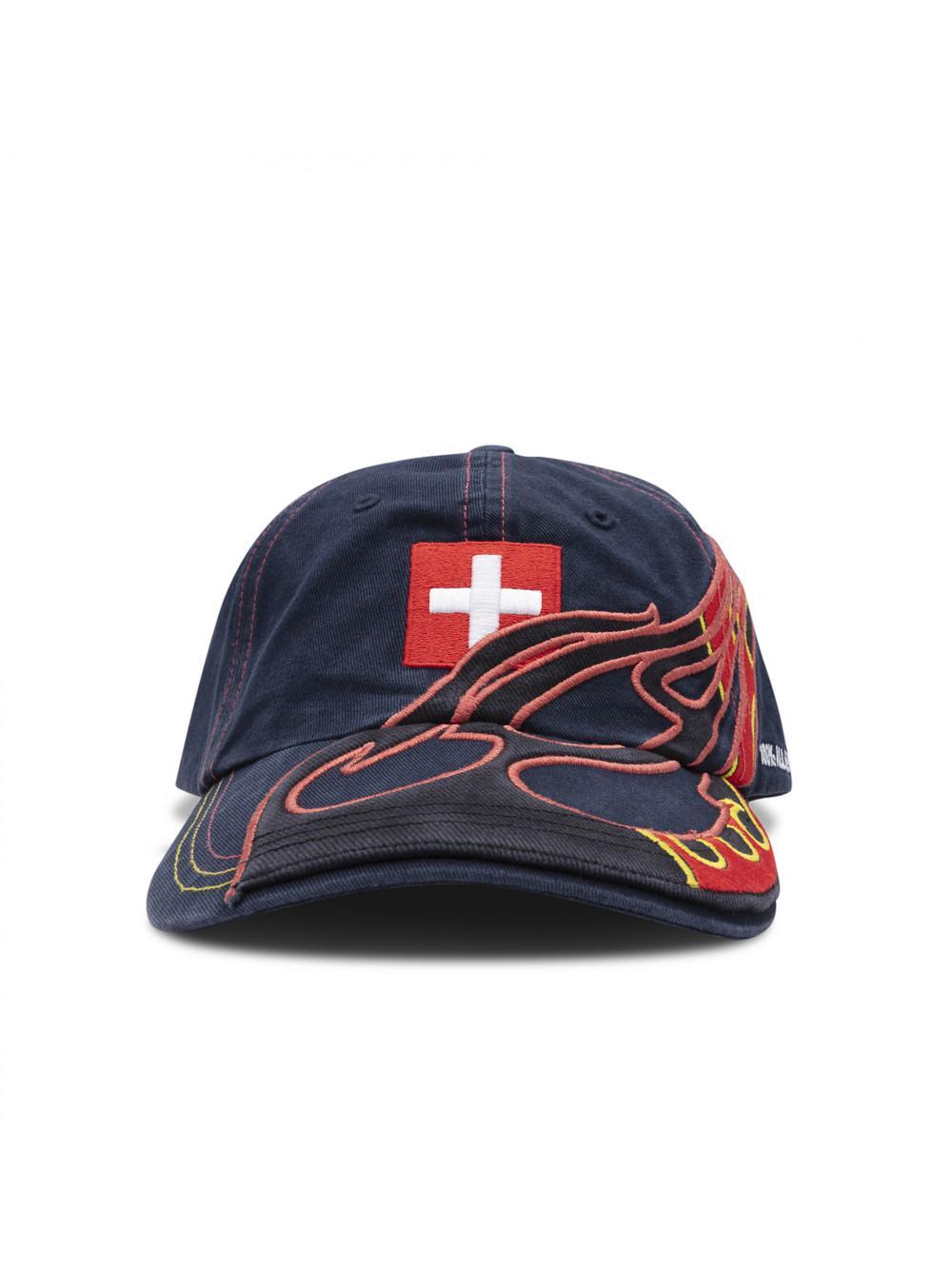 Vetements Cotton Baseball Cap in Blue - Save 30.11363636363636% - Lyst bcf1cbf913bd