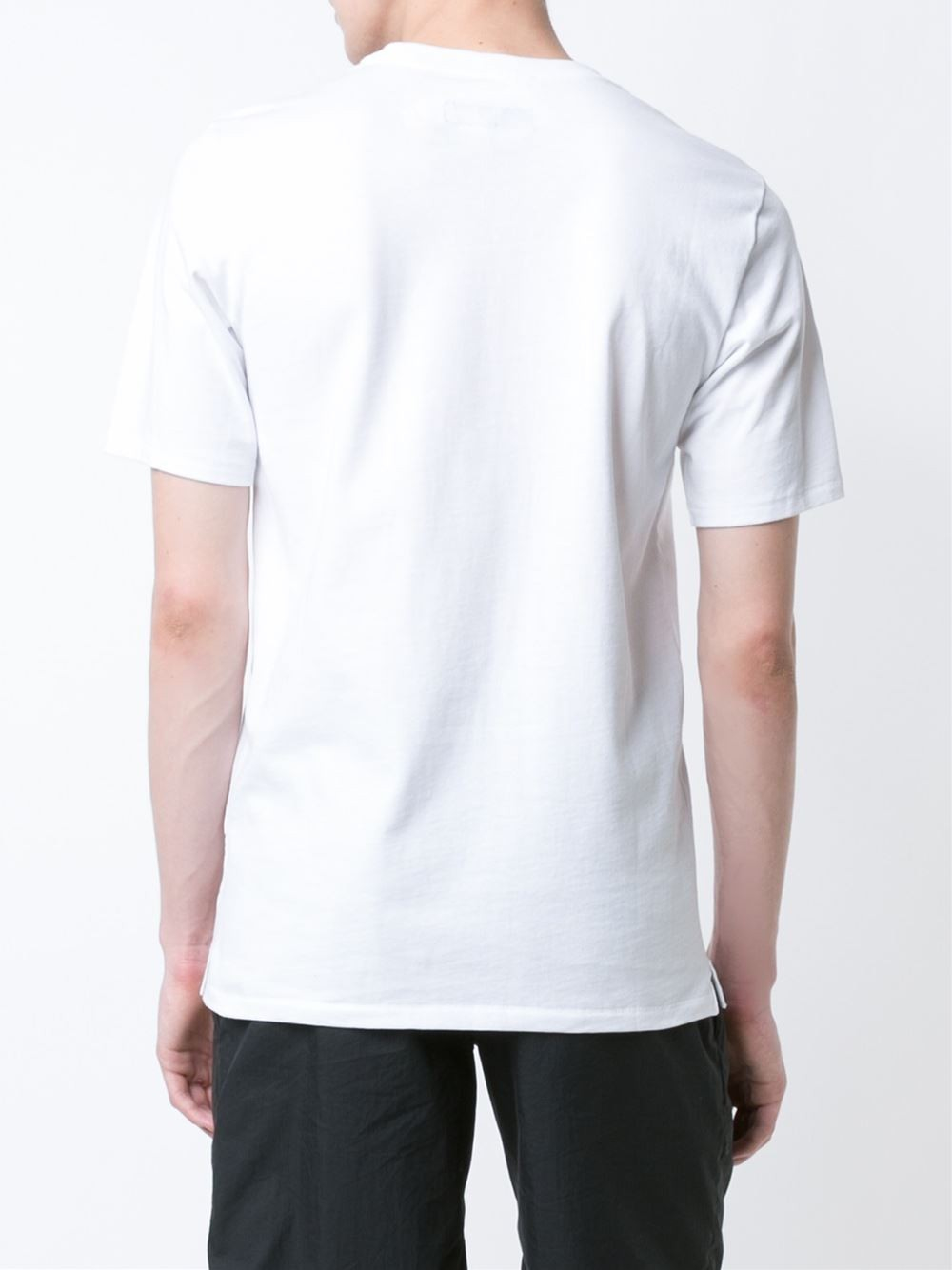 Rag Bone 39 Sour Face Embroidery T Shirt 39 In White For Men
