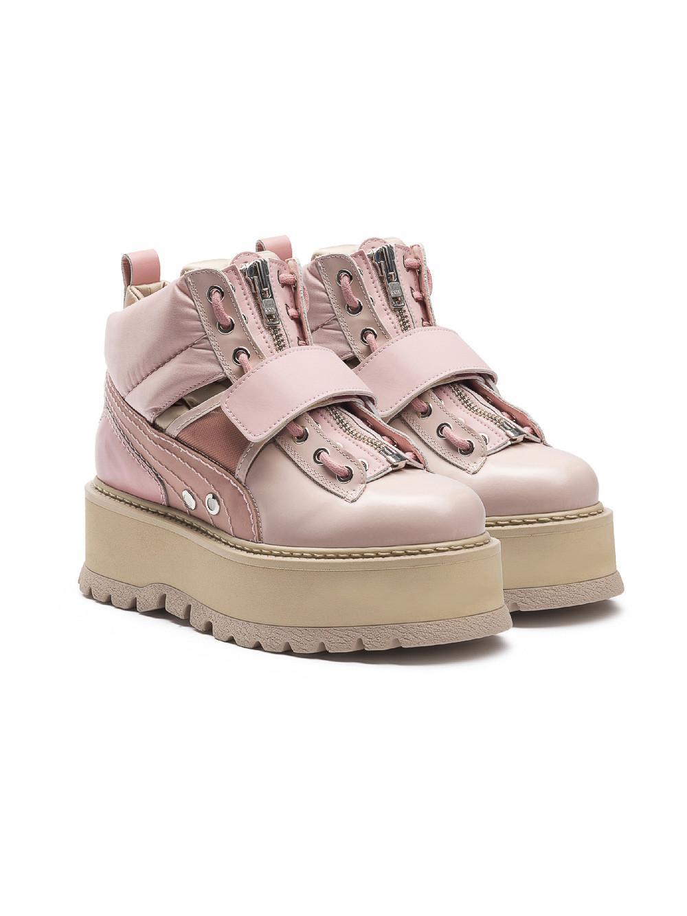 Lyst - PUMA Fenty X By Rihanna Sneaker Boots fa41ab5e6