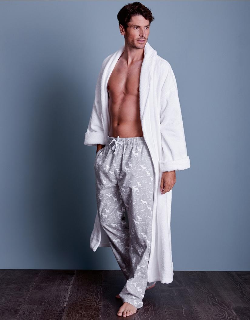 deff2ff76b Lyst - The White Company Unisex Cotton Classic Robe in White