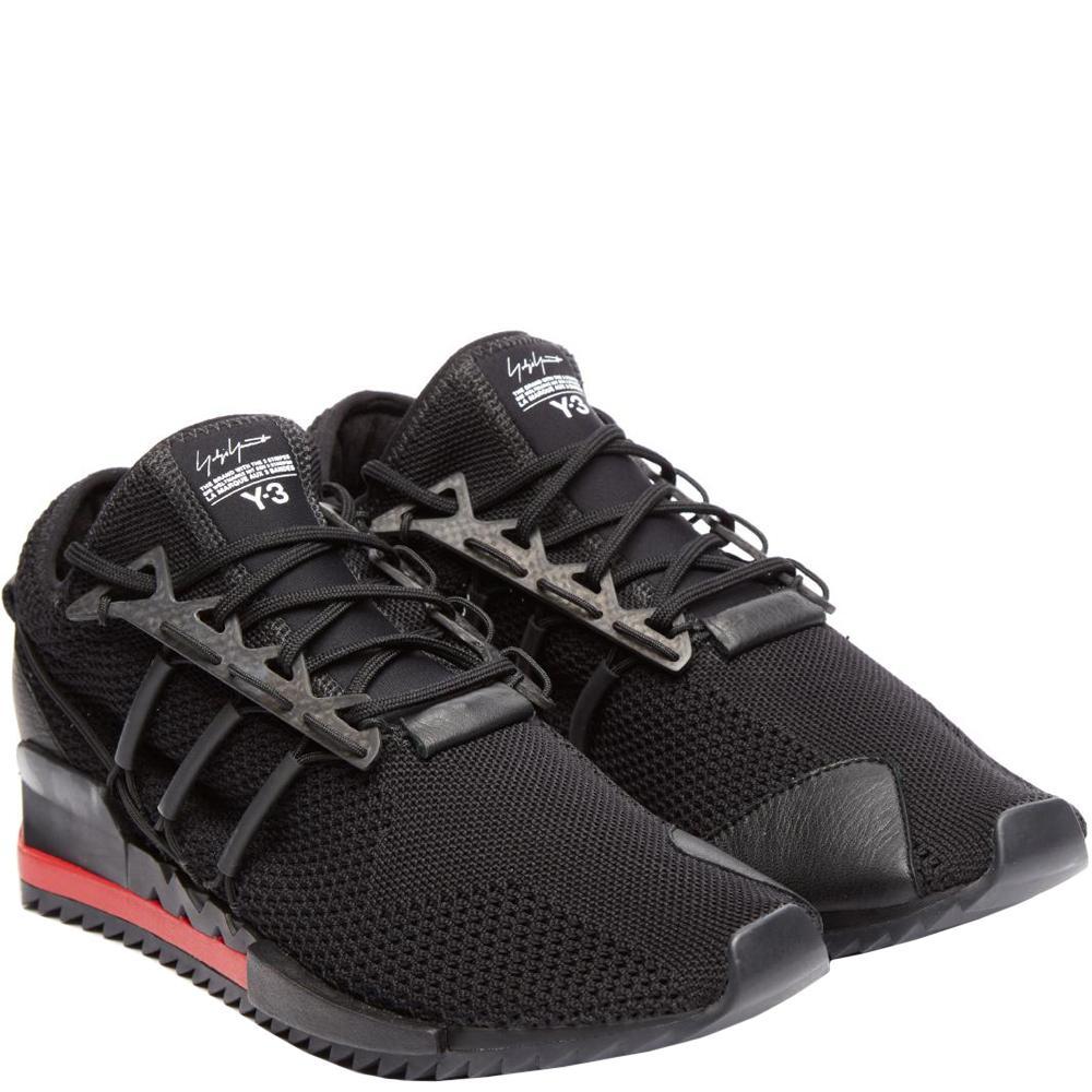 07393b9f2f432 Y-3 Y-3 Harigane Sneakers Black in Black for Men - Lyst
