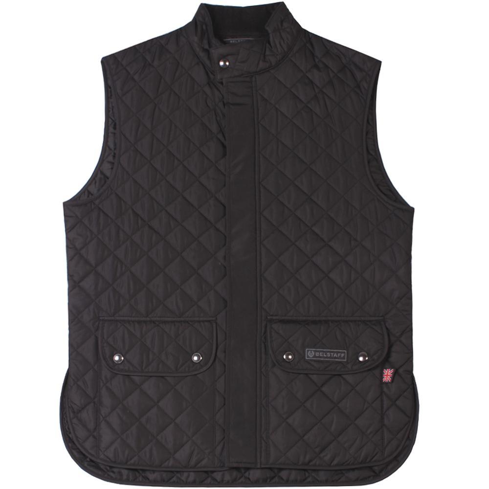 4682ce9e5839 Lyst - Belstaff Waist Coat Black in Black for Men