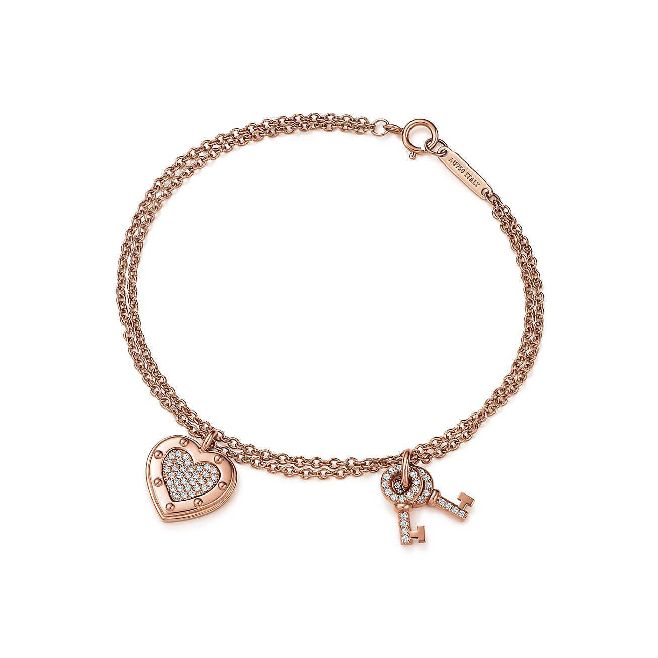 cfd53a740214 Tiffany   Co. Return To Tiffanytm Love Bracelet In 18k Rose Gold ...