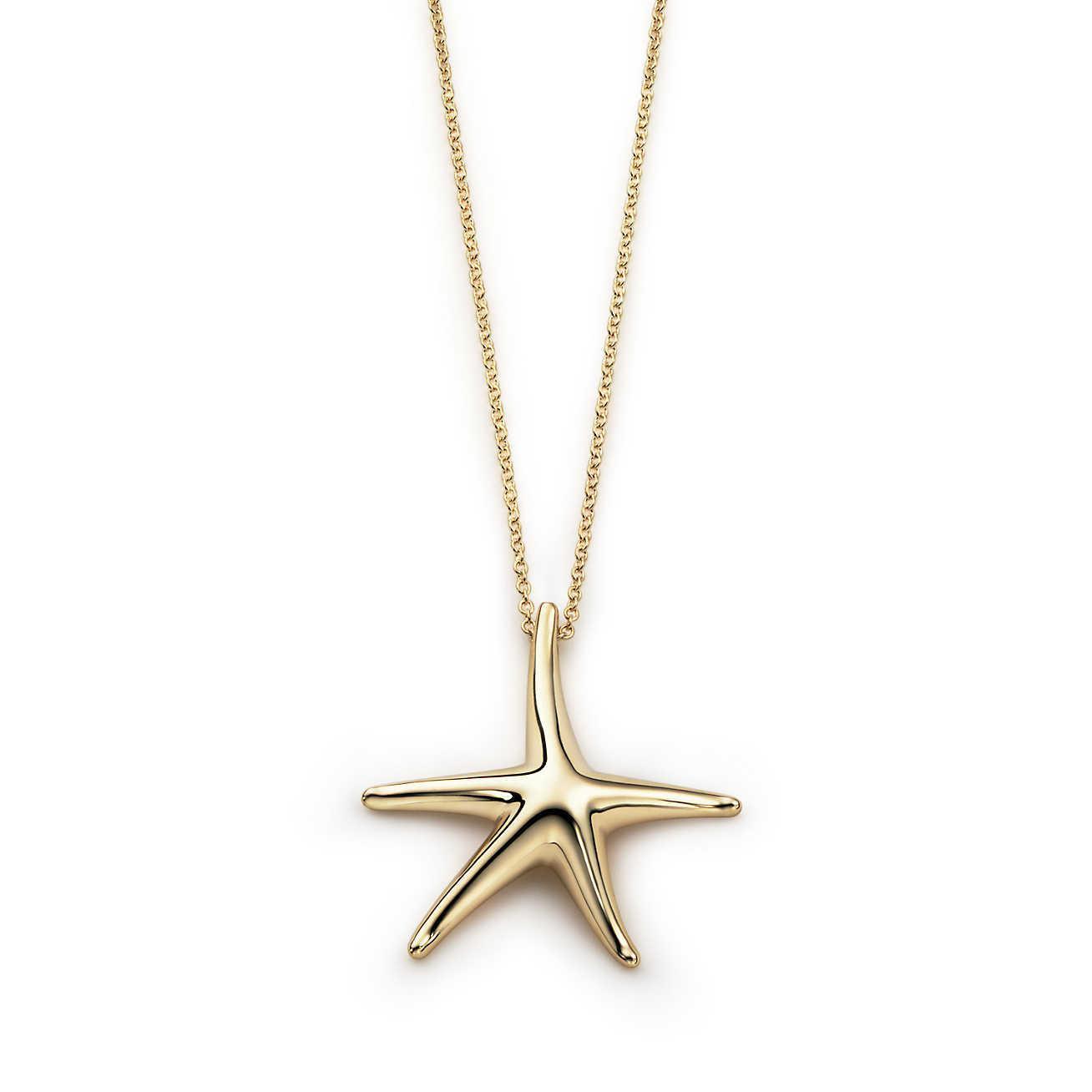 Elsa Peretti Starfish pendant in sterling silver, 28 mm Tiffany & Co.