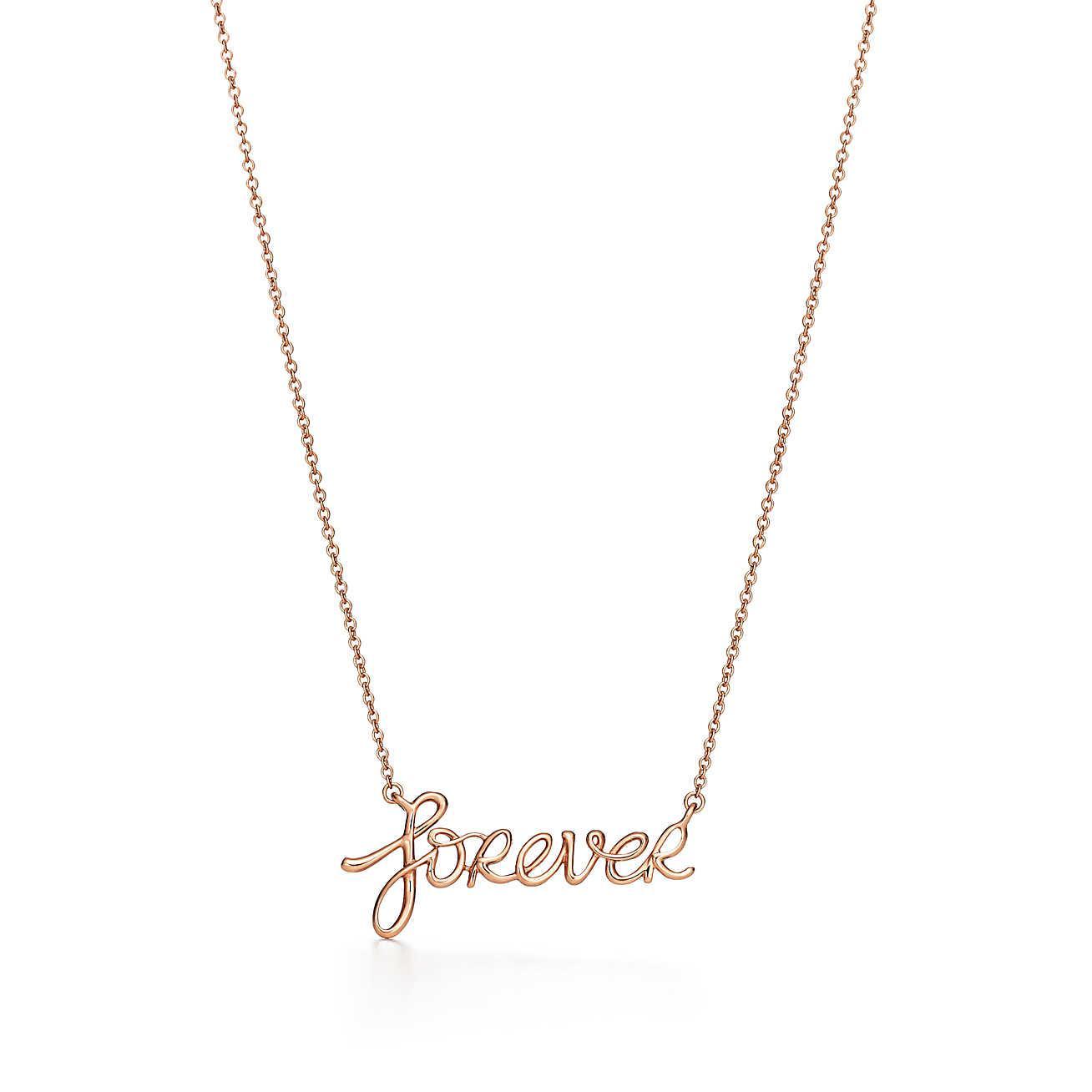 185f0dc3f16b Tiffany   Co. Paloma s Graffiti Forever Pendant In 18k Rose Gold in ...