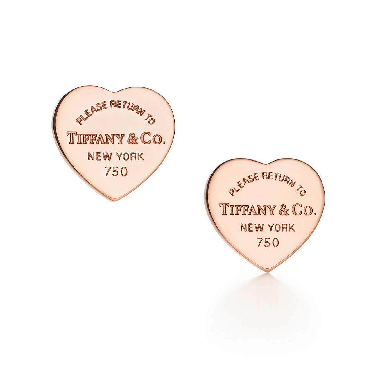 tiffany co return to tiffanytm mini heart tag earrings. Black Bedroom Furniture Sets. Home Design Ideas