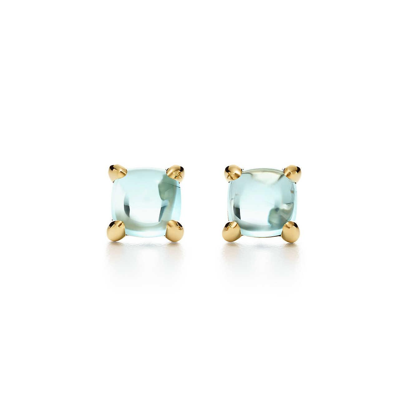 Palomas Sugar Stacks earrings in sterling silver with amazonites Tiffany & Co. GoESvkAnDp