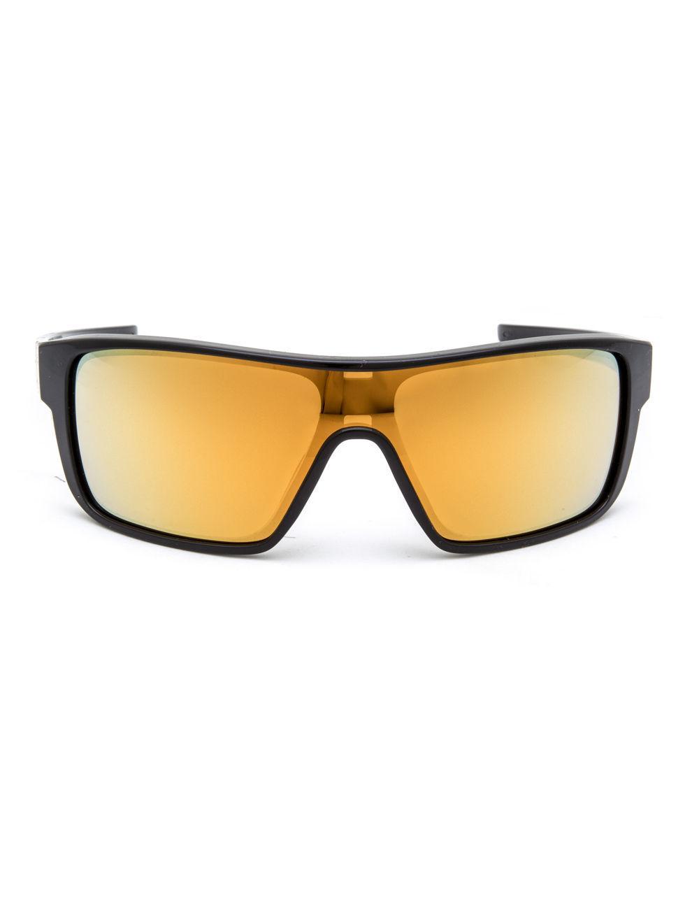 Lyst - Oakley Straightback Polished Black   24k Iridium Sunglasses in Black  for Men 2172025980