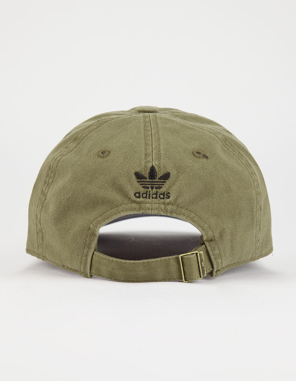 0214b5e46dc Lyst - Adidas Originals Relaxed Womens Dad Hat in Green