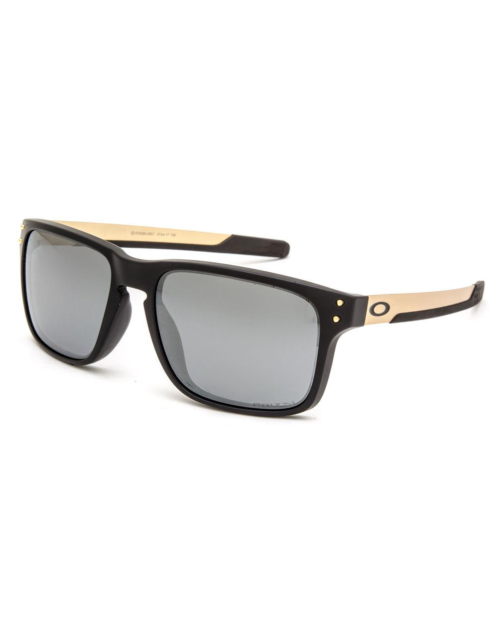 7d680e7c5d Lyst - Oakley Holbrook Mix Matte Black   Prizm Black Polarized ...