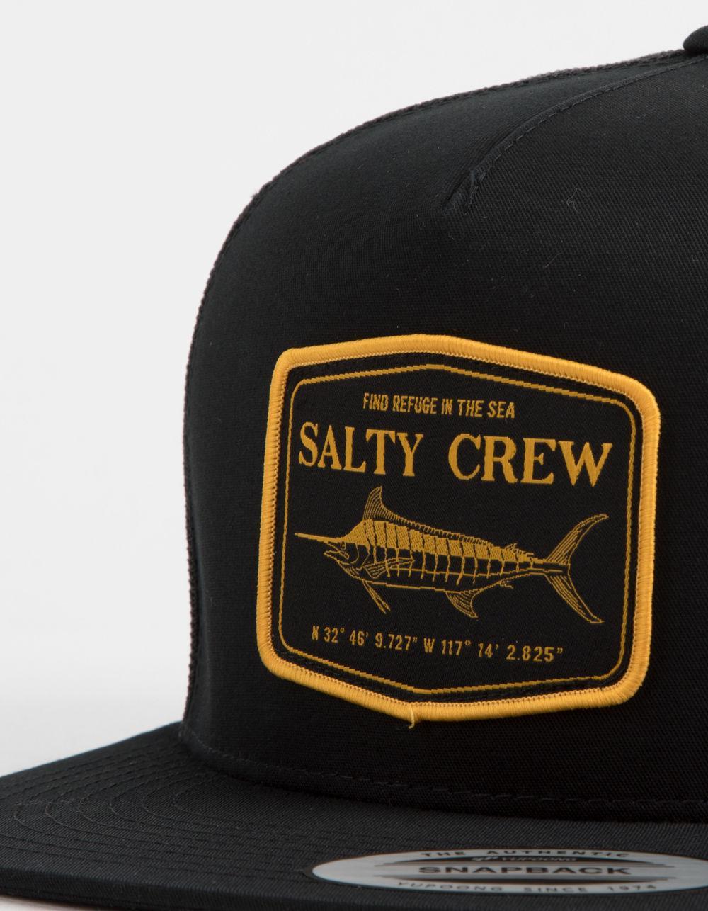 uk availability bd57c dac10 ... uk lyst salty crew stealth mens trucker hat in black for men 65ba3 90976