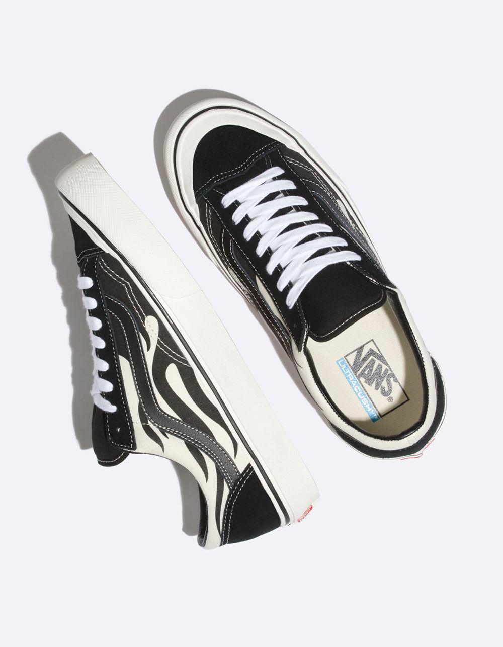 4c1c155ee1d6 Lyst - Vans Style 36 St Flame Mens Shoes in Black for Men