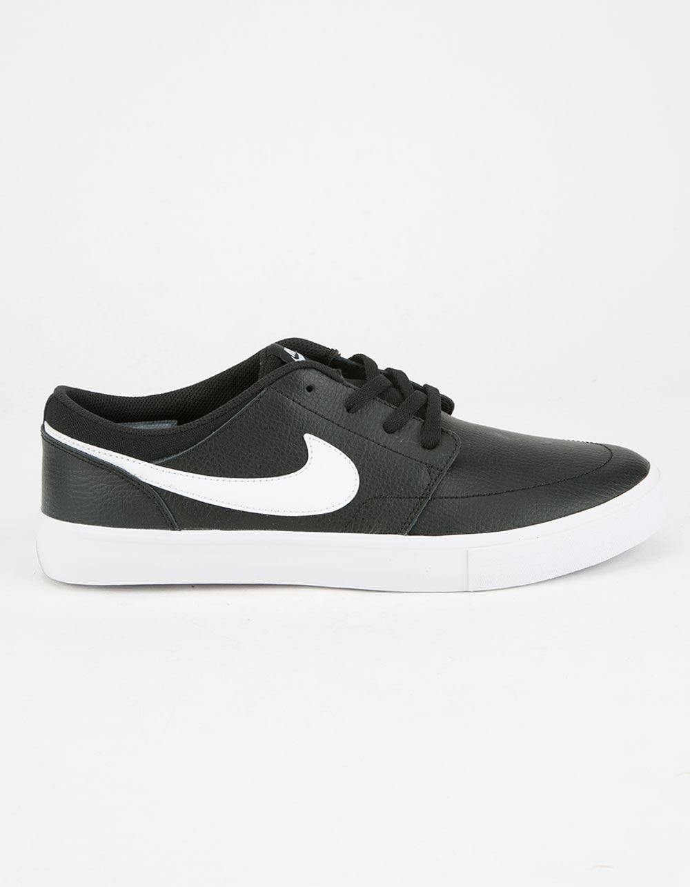 6e194942d6 Nike Sb Portmore Ii Solar Premium Shoes in Black for Men - Lyst
