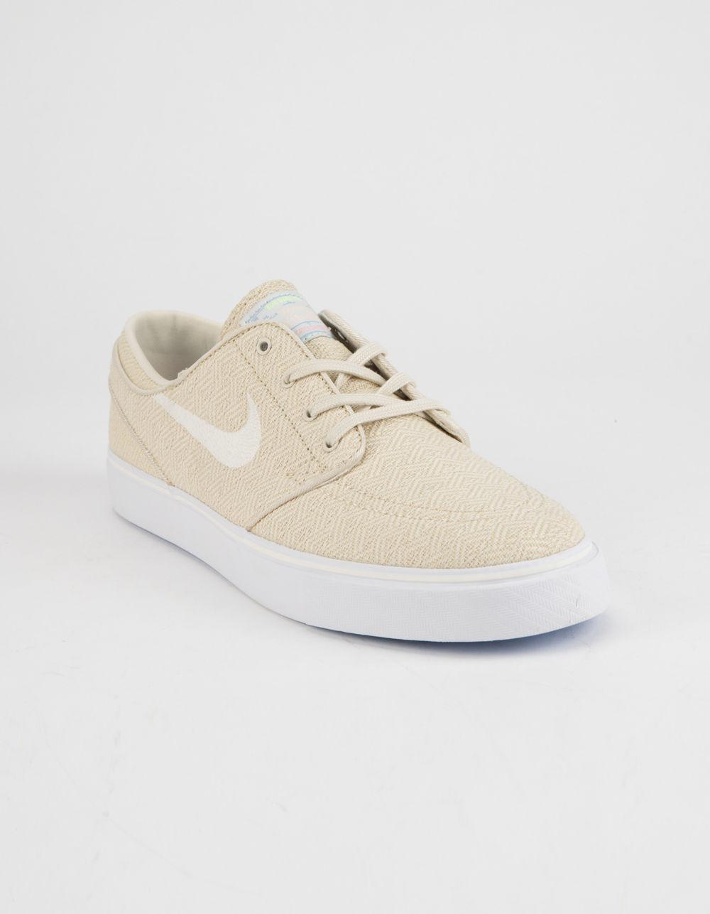 1923e48f6e4a8 Lyst - Nike Zoom Stefan Janoski Canvas Fossil   Sail White Mens Shoes in  White for Men
