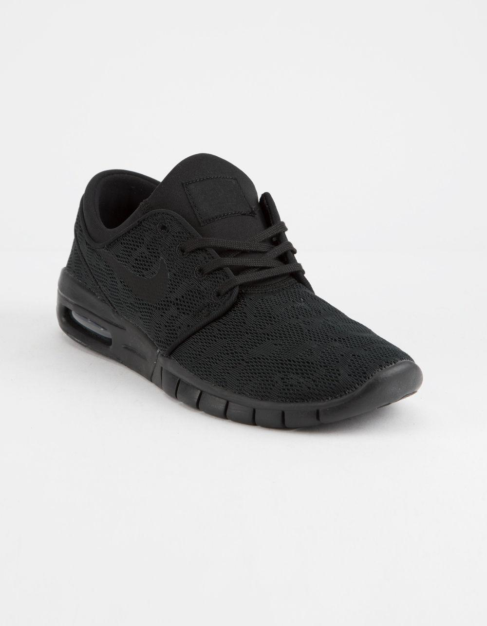 b060b86287b3 Lyst - Nike Stefan Janoski Max Black   Black-anthracite Shoes in Black for  Men
