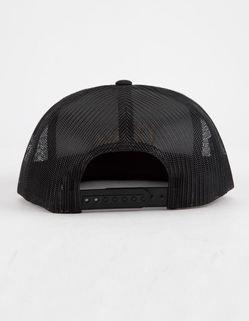 b35b97f040b Lyst - Brixton Coors Golden Embroidered Mesh Cap - in Black for Men