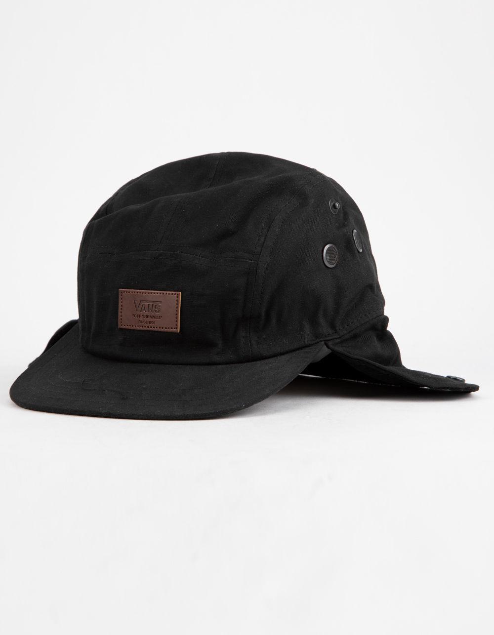 Lyst - Vans Flap 5-panel Mens Camper Hat in Black for Men f735ec32b1c