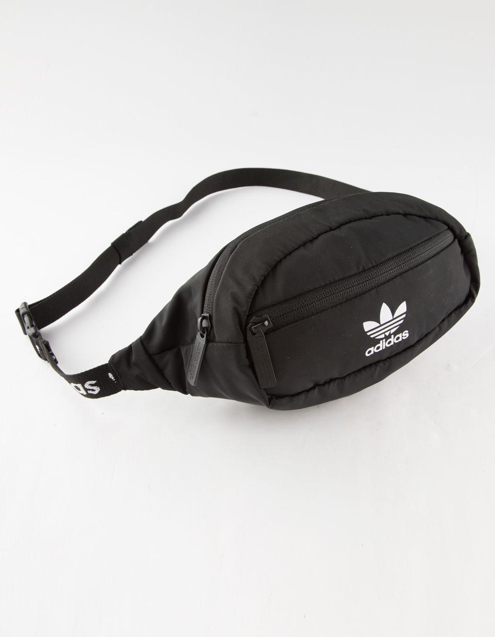 Adidas - Originals Black   White Fanny Pack for Men - Lyst. View fullscreen d605b53920