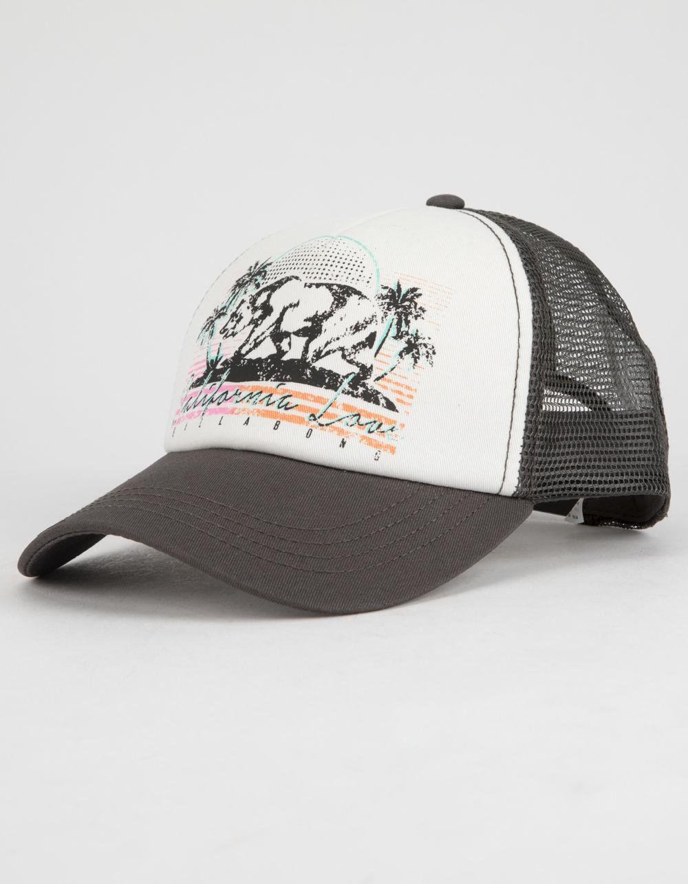 brand new af0c9 db988 ... where to buy lyst billabong retro bear womens trucker hat in gray for  men d10aa d518c