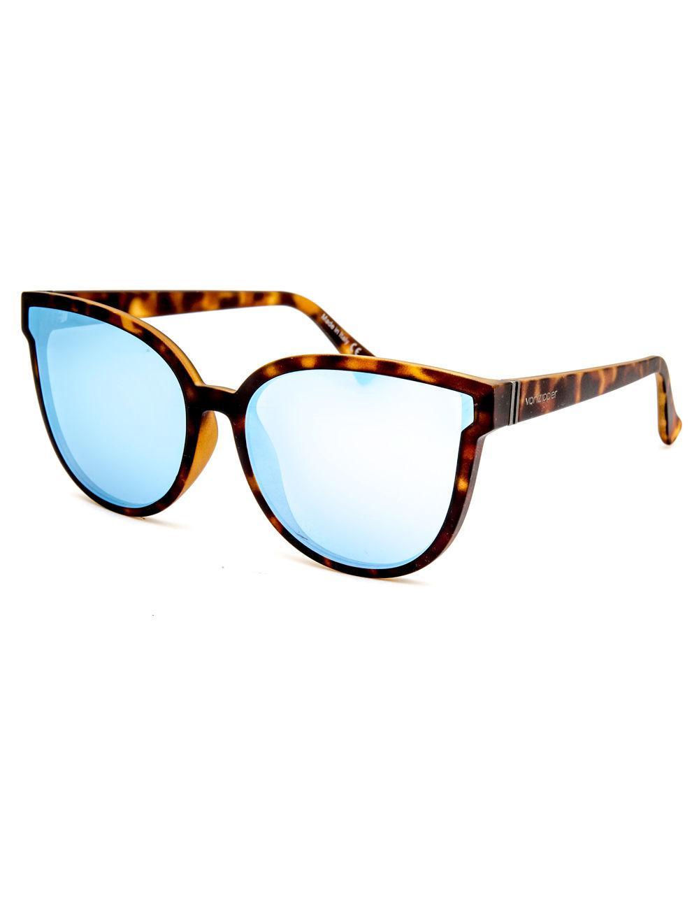 cbe8c41b23 Lyst - Von Zipper Fairchild Tortoise Sunglasses in Blue