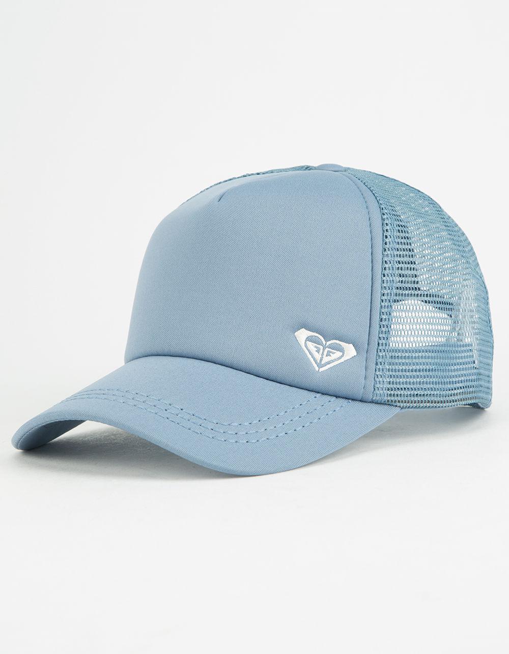 43fea89564a Lyst - Roxy Finishline Blue Womens Trucker Hat in Blue for Men