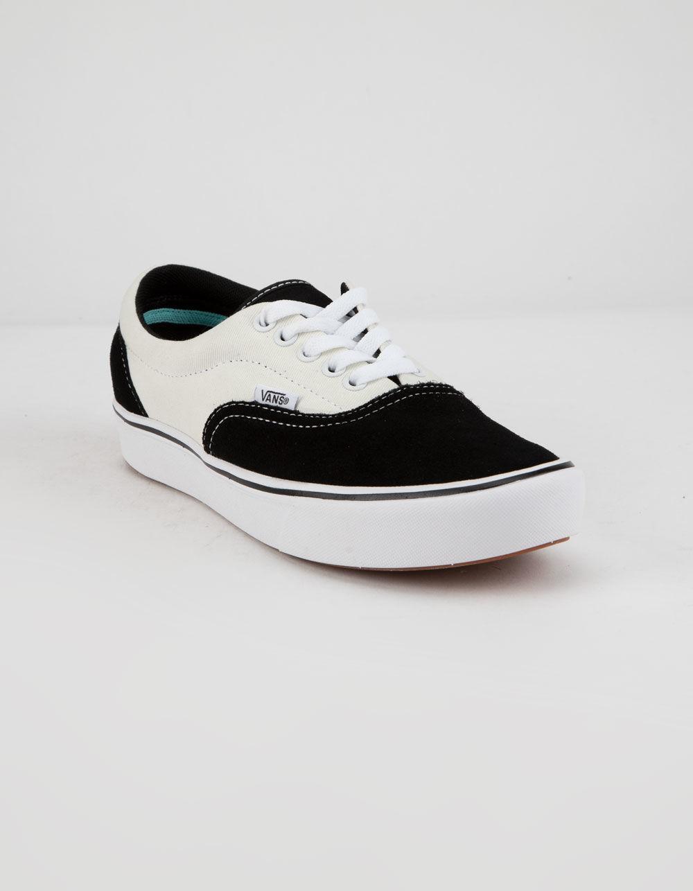 d4f72181446 Lyst - Vans Comfycush Era Black   Mars Shoes in Black
