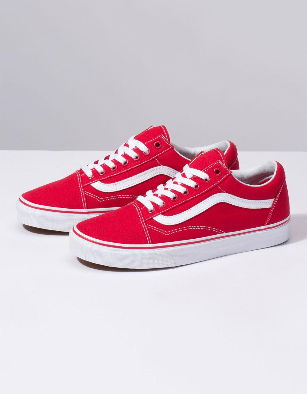 24c7622489 Lyst - Vans Canvas Old Skool Formula One Shoes in Red