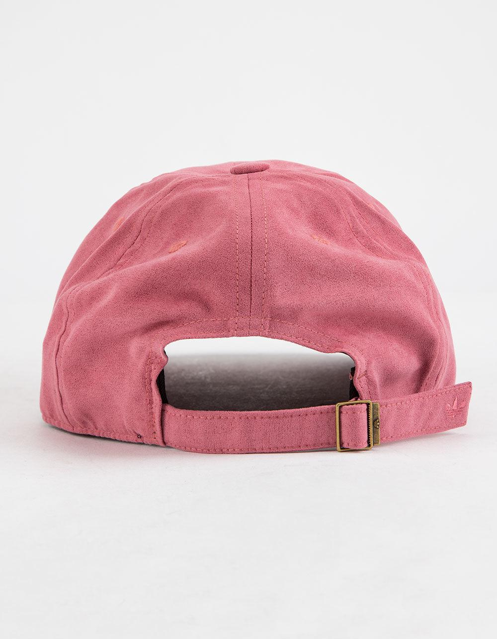 Lyst - adidas Originals Relaxed Deboss Trace Maroon Womens Strapback Hat in  Pink 6522e9c1e8ea
